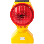 Tapco® 5785445 Individual Solar LED Barricade Light, Red, 3-Way On/Off Switch