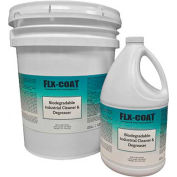 FLX-COAT - Biodegradable Industrial Concrete Cleaner/Degreaser, 1 Gallon