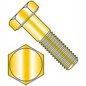Hex Head Cap Screw - M16 x 2.0 x 30mm - Steel - Zinc Yellow - Class 10.9 - DIN 933 - Pkg of 25