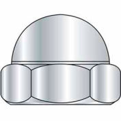 10-32 Hex Acorn Cap Nut - 2 Piece - Nickel Plated - UNF - Pkg of 100