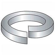 "#10 Hi-Collar Split Lock Washer - .2/.193"" I.D. - .047"" Thick - Steel - Plain - Grade 2 - Pkg of 100"