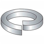 "#6 Hi-Collar Split Lock Washer - .148/.141"" I.D. - .03"" Thick - Steel - Plain - Grade 2 - Pkg of 100"