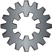"5/8"" Combination Internal/External Tooth Lock Washer - Steel - Zinc - Pkg of 50"