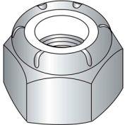 10-24 (NM) Machine Screw Nylon Insert Lock Nut - 304 Stainless Steel - UNC - Pkg of 100