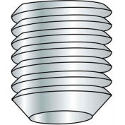 M8 x 1.25 x 12mm - Cup Point Socket Set Screw - 304 Stainless Steel - Pkg of 100