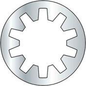 10mm - Internal Tooth Lock Washer - Steel - Zinc - DIN 6797J - Pkg of 100