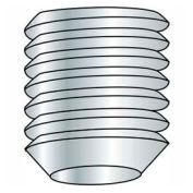 M8 x 1.25 x 8mm Cup Point Socket Set Screw - Steel - Black Oxide - DIN 125B - 45H - Pkg of 100