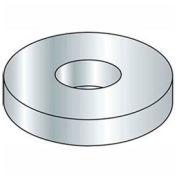 """1/4"""" Flat Washer - SAE - 9/32"""" I.D. - Steel - Zinc - Grade 2 - Pkg of 100"""