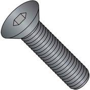 M4 x 0.7 x 12mm Flat Socket Cap Screw - Steel - Black Oxide - DIN 125B - Class 10.9 - Pkg of 100