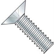 "10-24 x 1/2"" Machine Screw - Phillips Flat Head - Steel - Zinc Plated - Pkg of 100"