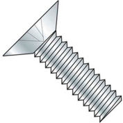 "8-32 x 1/2"" Machine Screw - Phillips Flat Head - Steel - Zinc Plated - Pkg of 100"