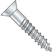 "#10 x 2-1/2"" Wood Screw - Phillips Flat Head - Steel - Zinc Plated - Pkg of 100"