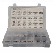244 Piece Sheet Metal (Tapping) Screw Assortment - #6 to #14 - Phillips Flat Head - 304 SS