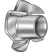 M8 Zinc Finish Low Carbon Steel T- Nut - Package Quantity 100