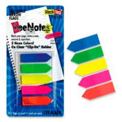 """Redi-Tag® SeeNotes Arrow Flags, 1-3/4"""" x 15/32"""", Assorted Colors, 125 Flags/Pack"""