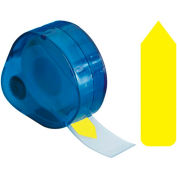 "Redi-Tag® Arrow Flags, 1-7/8"" x 9/16"", Yellow, 120 Flags/Dispenser"