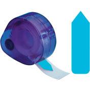 """Redi-Tag® Arrow Flags, 1-7/8"""" x 9/16"""", Blue, 120 Flags/Dispenser"""