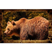 Wildlife Mat - Bear 4' x 6'