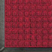 "WaterHog® Classic Entrance Mat Waffle Pattern 3/8"" Thick 3 x 12' Red/Black"