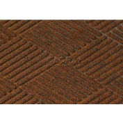 Waterhog Classic Diamond Mat - Dark Brown 3' x 8'