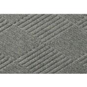 """WaterHog® Classic Diamond Mat 3/8"""" Thick 3' x 12' Medium Gray"""
