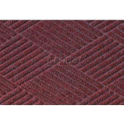 Waterhog Classic Diamond Mat - Bordeaux 6' x 6'