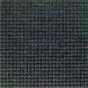 "Waterhog Classic Carpet Tile 2105514000, Square, 18""L X 18""W X 1/4""H, Red/Black, 12-PK"