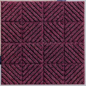 """Waterhog Classic Carpet Tile 2195514000, Diagonal, 18""""L X 18""""W X 1/4""""H, Red/Black, 12-PK"""