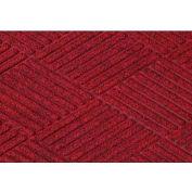 "WaterHog® Diamond Mat Fashion Border 3/8"" Thick 3' x 12' Red/Black"