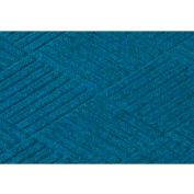 "WaterHog® Diamond Mat Fashion Border 3/8"" Thick 6' x 16' Medium Blue"