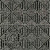"""Waterhog Eco Premier Carpet Tile 221571716000, Geometric, 18""""L X 18""""W X 7/16""""H, Indigo, 10-PK"""