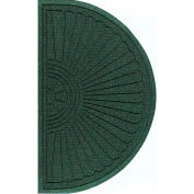 "WaterHog Eco Grand Elite 3/8"" Thick Half Oval Entrance Mat, Southern Pine 4' x 2'3"""