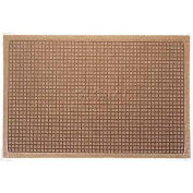 WaterHog™ Fashion Entrance Mat, Med Brown 6' x 8'