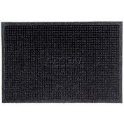 WaterHog™ Fashion Entrance Mat, Charcoal 4' x 10'