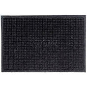 WaterHog™ Fashion Entrance Mat, Charcoal 4' x 12'