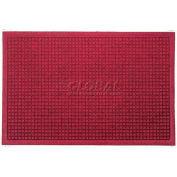 Waterhog Fashion Mat - Red/Black 3' x 12'