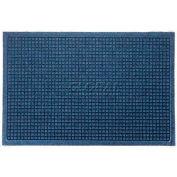 WaterHog™ Fashion Entrance Mat, Med Blue 4' x 16'