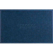 WaterHog™ Fashion Entrance Mat, Navy 4' x 10'