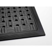 Cushion Station W/ Drainage Holes, Black 4' x 20'