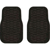 Waterhog Car Mats with Traction Pattern, Medium, Charcoal, Full Set of 4 - 3905540002070