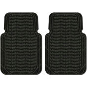 Waterhog Car Mats with Traction Pattern, Large, Charcoal, Front Set of 2 - 3906540001070