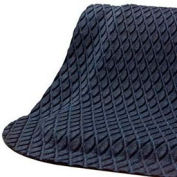 "Hog Heaven® Anti Fatigue Mat Fashion Border 5/8"" Thick 2' x 3' Black"