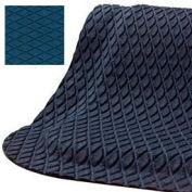 "Hog Heaven Fashion Mat 7/8"" 3x5 Cobalt Blue"