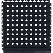 "Comfort Flow HD Modular Anti-Fatigue Tile 3/4"" Thick, Side Black 18"" x 19-1/8"""