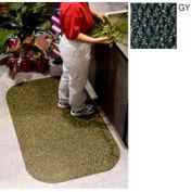 "Hog Heaven Confetti Mat 7/8"" 3x5 Gray"