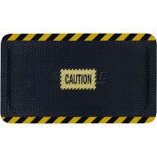 "Hog Heaven™ Sign Mat, Caution, Vertical Black Border, 69""x46""x5/8"""