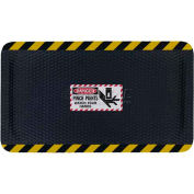 "Hog Heaven™ Sign Mat, Danger Pinch Points, Vertical Black Border, 58""x33""x7/8"""