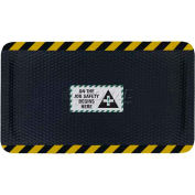 "Hog Heaven™ Sign Mat, On the Job Safety, Vertical Yellow Border, 69""x46""x5/8"""