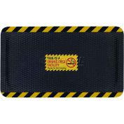 "Hog Heaven™ Sign Mat, Smoke Free Facility, Horizontal Yellow Border, 69""x46""x5/8"""
