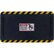 "Hog Heaven™ Sign Mat, Danger Keep Clear, Horizontal Yellow Border, 58""x33""x5/8"""